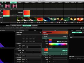 使用Resolume Arena创建音频波形可视化效果
