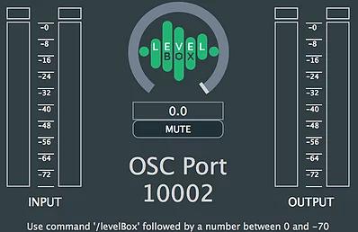 通过OSC远程控制软件音量插件:Level Box