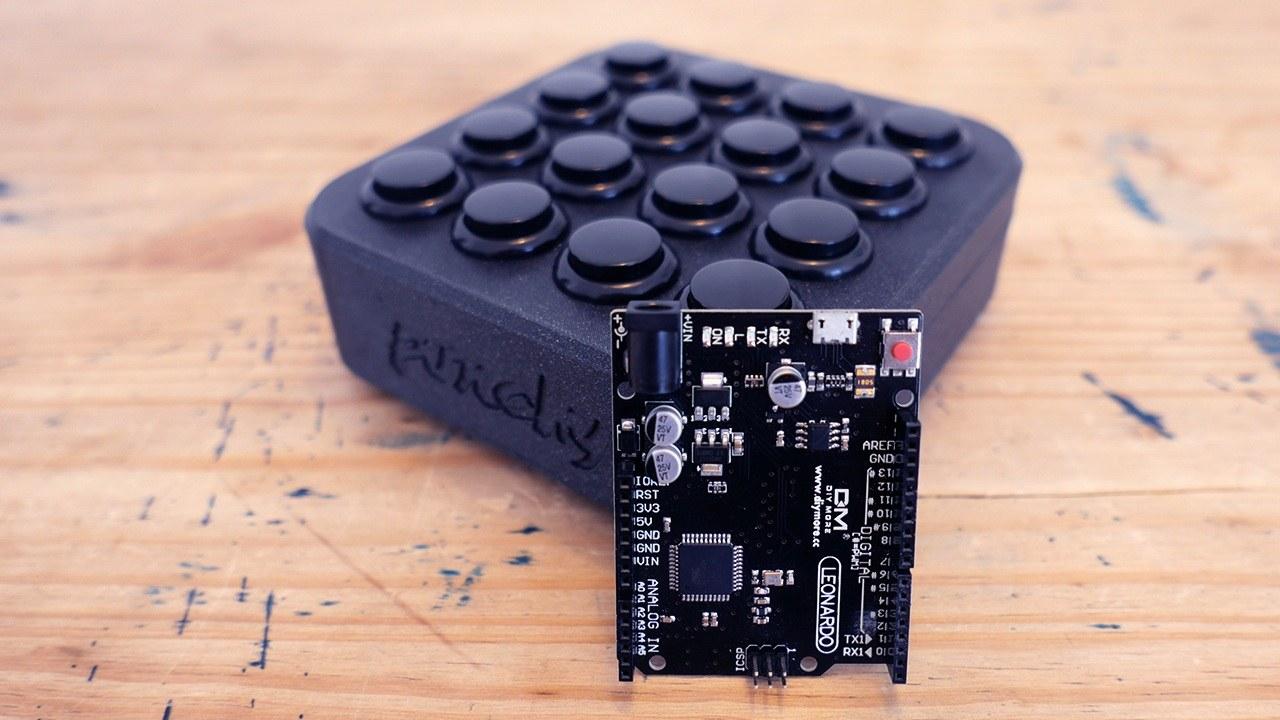 DIY一个Arduino MIDI控制器